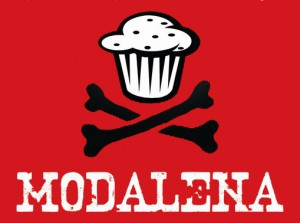 Logo MODALENA rojo