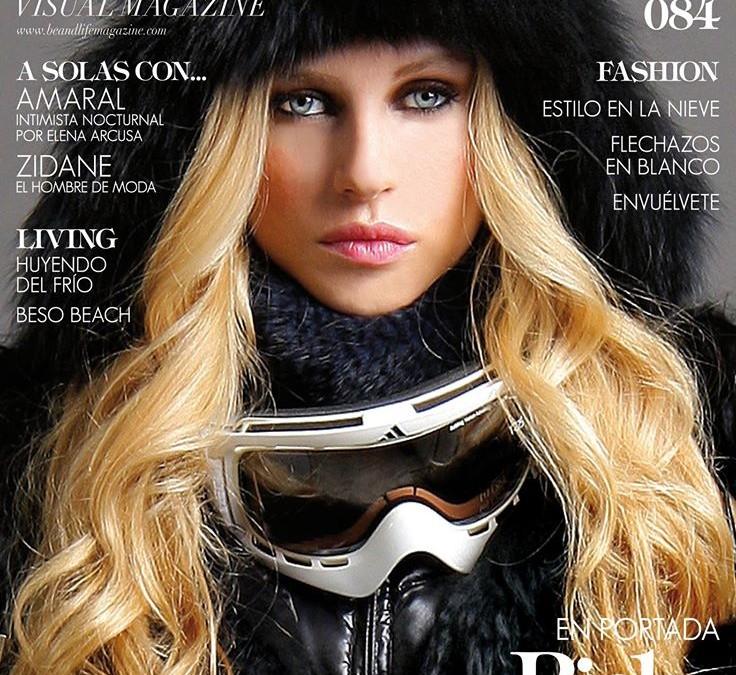Maria, espectacular en la portada de Be&Life
