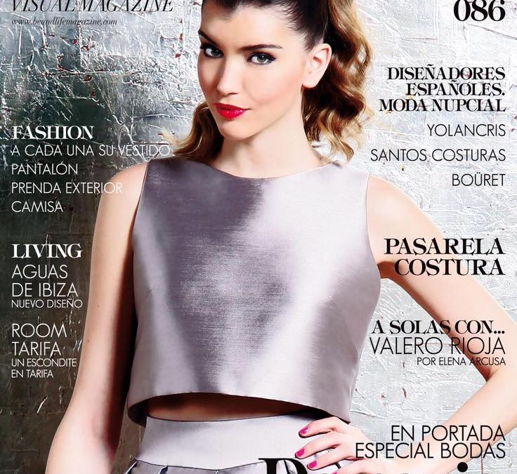 Sandra Hortelano, nueva portada de Beandlife