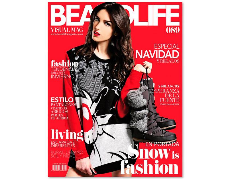 Sofía Lecina nueva portada de la revista Be&Life